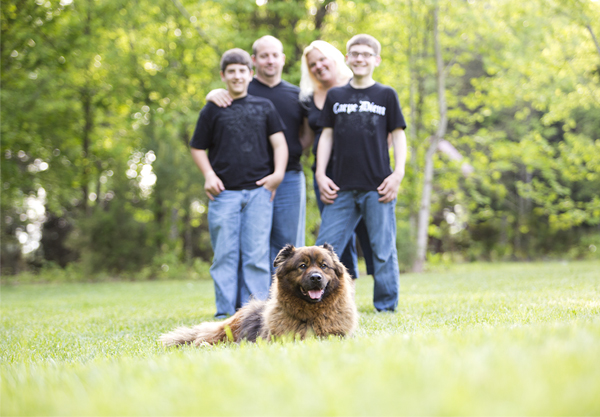 Barkley and family, Sarah McGraw Photography