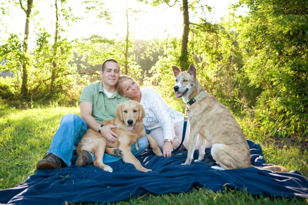 © Britt Croft Photography | family-photo with dogs, Parker and Lilly