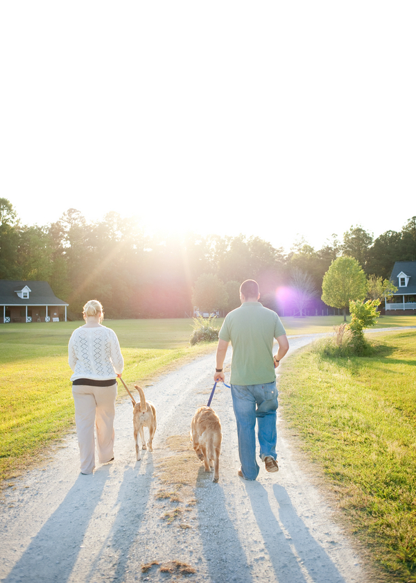 © Britt Croft Photography | family-pictures-with-dogs, Golden-Retriever, mixed breed,Lilly and Parker and family