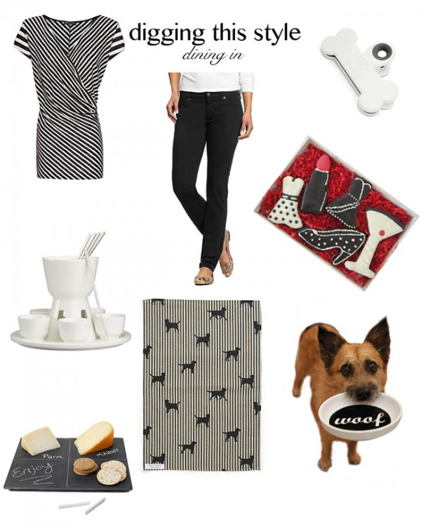 black and white entertaining, dog accessories,