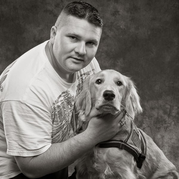 Patriot Rovers, veteran and service dog