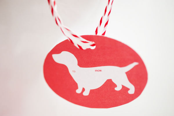 red-and-white-dog-template, printable dog tag, Baker's twine, doxie tag, Mashup Valentines