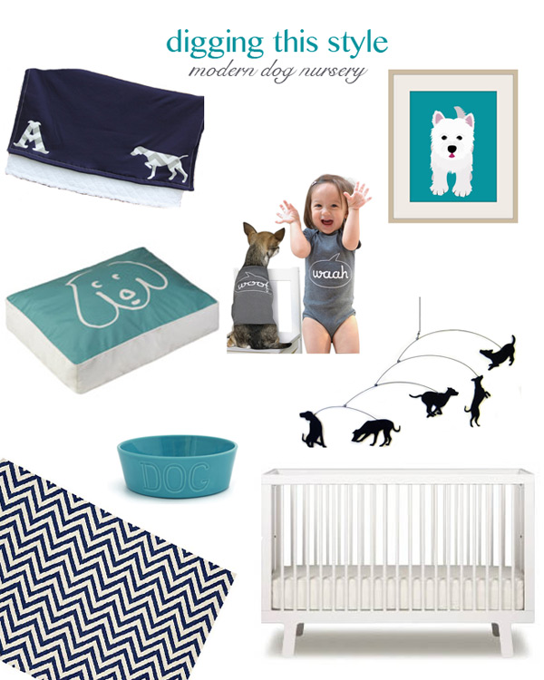 Digging This Style: Modern Dog Nursery