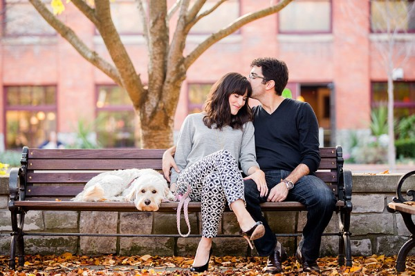 © Leo Timoshuk Photography, urban-engagement-pictures-with-dog