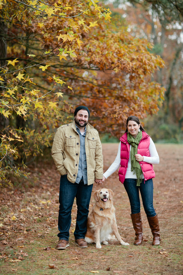 © Lauryn Galloway Photography, Golden-Retriever-and-family-fall-photo-session
