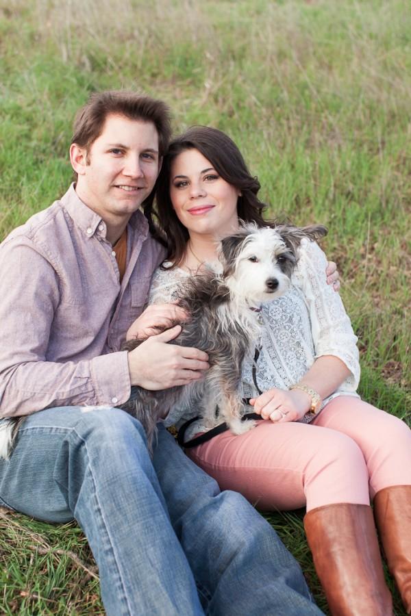 © Katie Jackson Photography, Malibu-engagement-with-rescue-dog