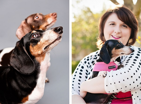© Thomas Pitera Photography, Doxie-dynamic-duo, girl-and-her-dog