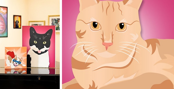 © Hot Dog Digital Pet Art, fun-pet-portraits