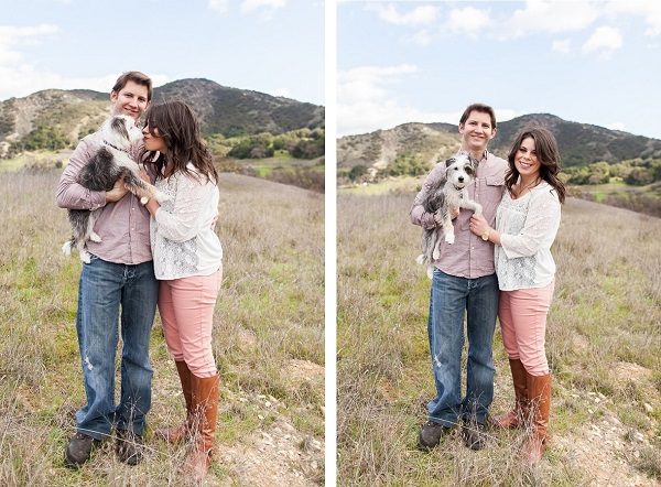 © Katie Jackson Photography, Malibu-engagement-session-with-Terrier