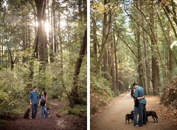© Kim J Martin Photography, Santa-Cruz-engagement-session-with-pups