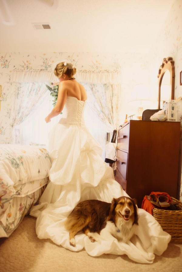 © Jen Yuson Photography, bride-and-her-dog