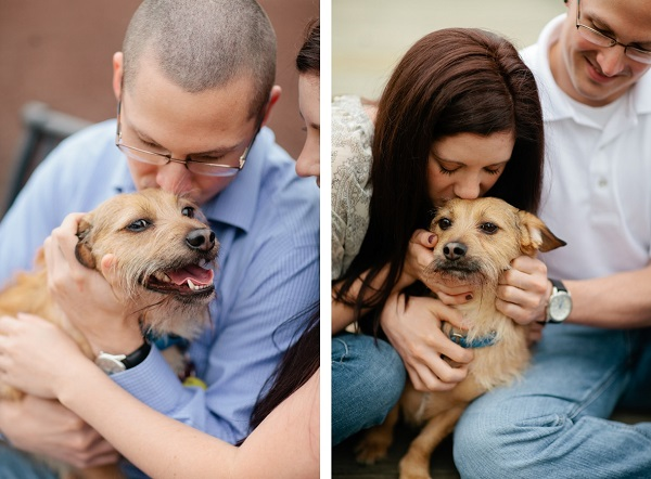 © Lauryn Galloway Photography, Richmond-VA-engagement-session-with-dog