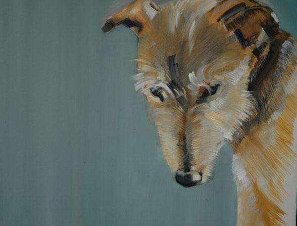 © Sally Muir, fine-art-dog-paintings