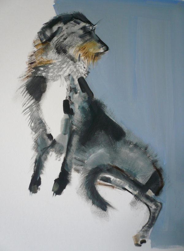 © Sally Muir, fine-art-dog-painter