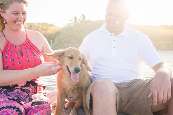 © Enduring Impressions Photography, Golden-Retriever-at-beach
