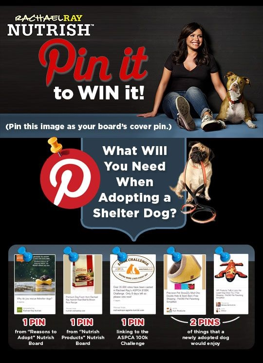 Nutrish Pin It to Win It Pinterest Contest