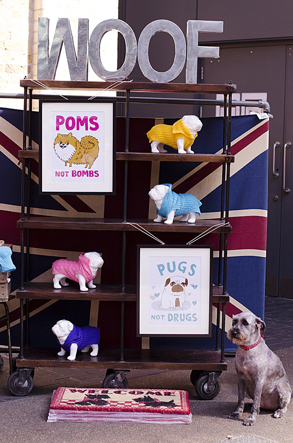 © Amber Allen, The London Phodographer, dog-sweater-display