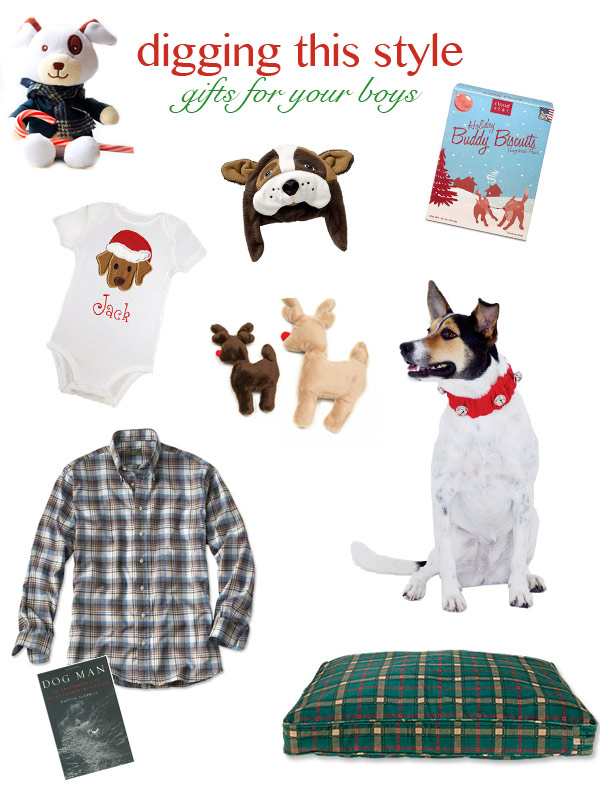 Digging This Style | Gifts-For-Your-Boys, gift ideas for dog lovers and dogs