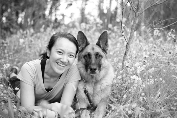© Petal Photography, | Daily Dog Tag |, girl and her dog, #Shepherd