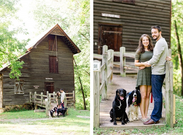 © Caroline Lima Photography, | Daily Dog Tag | NC-Engagement-session-with-dogs