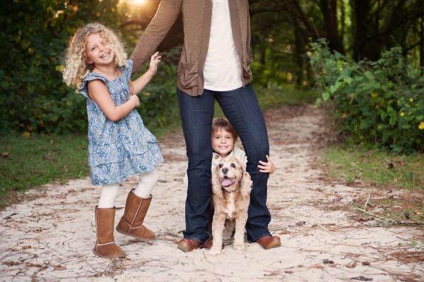 © Hamilton Creek Photography, | Daily Dog Tag | Cocker Spaniel and Family