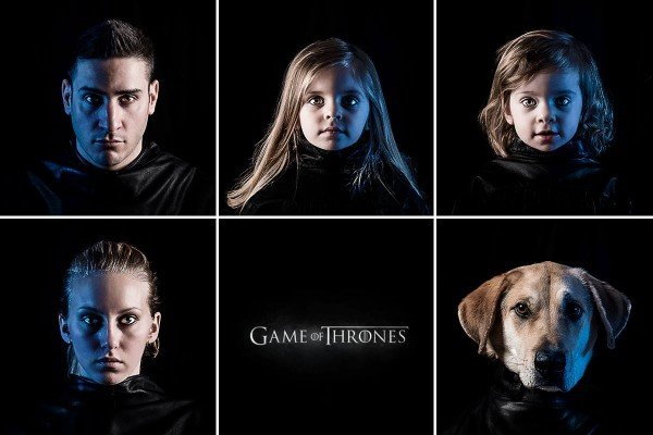 © Tom Harmon Photography | Daily Dog Tag | Game-of-Thrones-Family-Portait