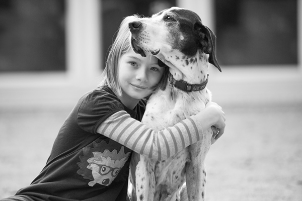 © McGraw Photography | Daily Dog Tag | girl-and-her-dog-dynamic-duo