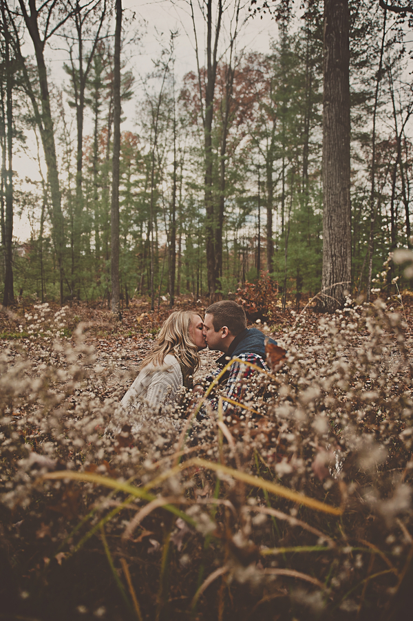 © Patrick Hadley Photography | Daily Dog Tag | Gorgeous-engagement-session-in-woods