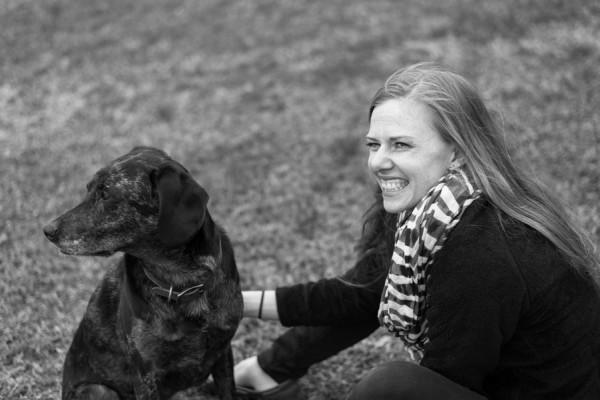 © Elizabeth Henson Photos | Daily Dog Tag | senior-Catahoula and woman