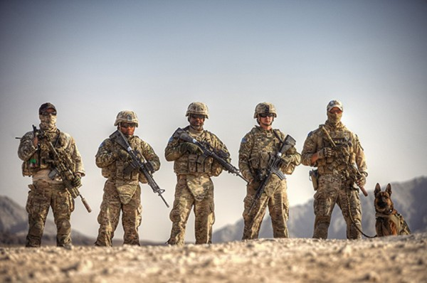 © G Dhiman Photography | Daily Dog Tag | Military Working Dog and  US Troops