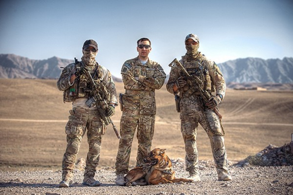 © G Dhiman Photography | Daily Dog Tag | MWD and  US Troops