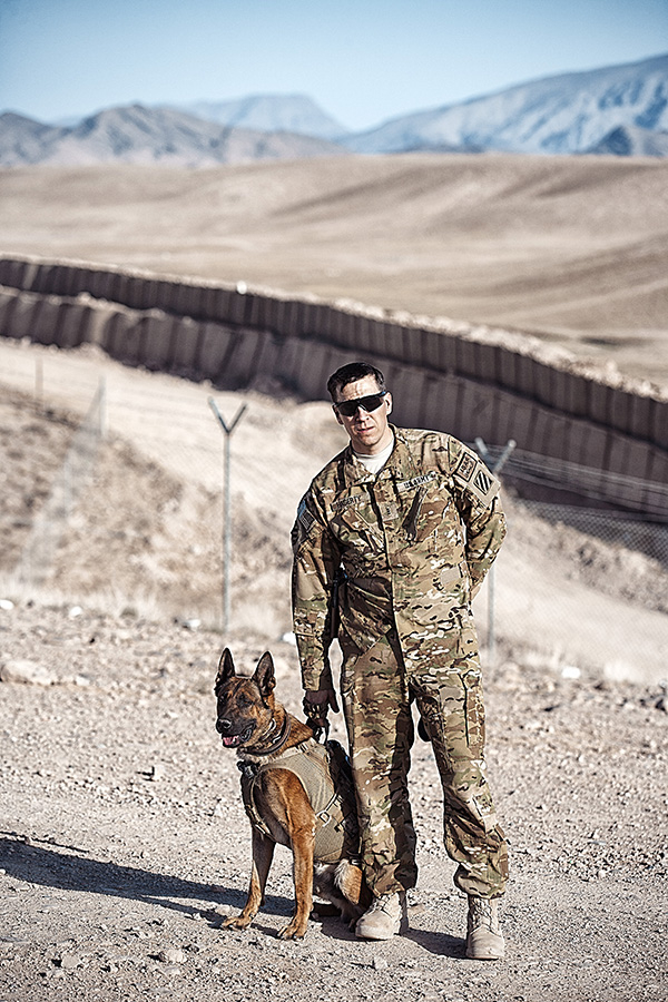 © G Dhiman Photography | Daily Dog Tag | Military Working Dog and  Army solider