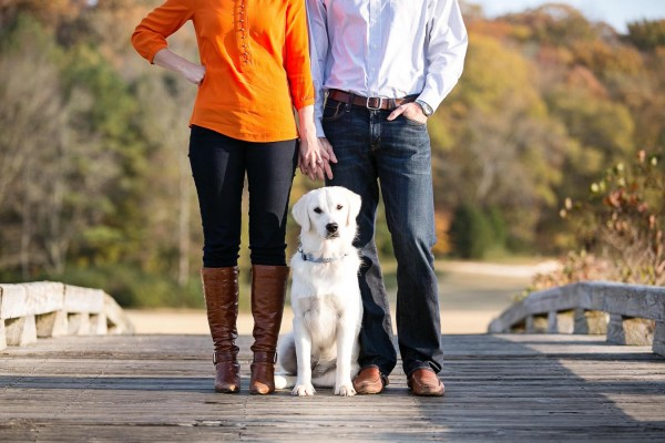 © Melissa Tuck Photography | Daily Dog Tag | Engagement-session-with-puppy
