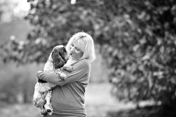© April Ziegler Photography | Daily Dog Tag | Girl-and-her-dog