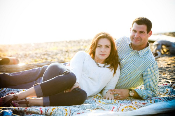 © Barnwood + Brick | Daily Dog Tag | Beach-anniversary-session, Seattle-photography