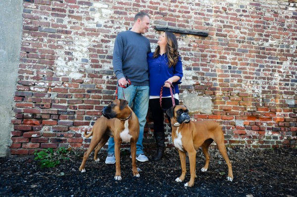 © Origin Photo | Daily Dog Tag | Philadelphia-Garden-District-engagement-photos