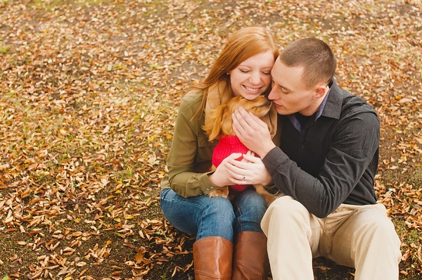 © Oeil Photography | engagement-session-including-Doxie