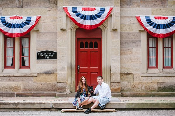 © Jenny Karlsson Photography | Daily Dog Tag | Pittsburgh-engagement-photos-with-dog