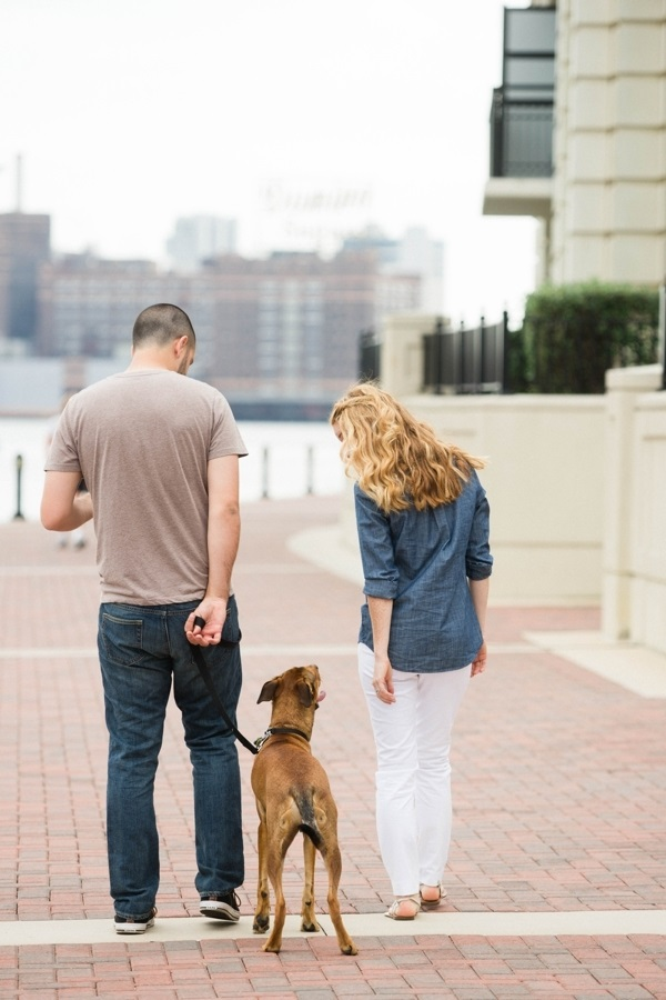 © Beth T Photography | Daily Dog Tag | Inner-harbor, Baltimore, engagement photos