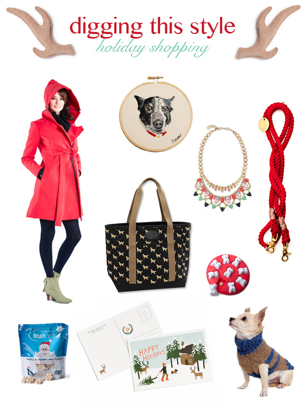 2014-Holiday-Dog-Lover-Shopping-Guide, Digging This Style:  Dog Lovers Holiday shopping