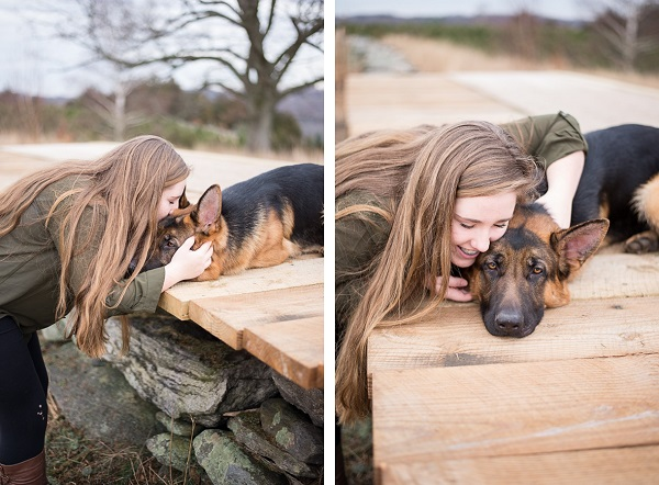 Teenager and her German Shepherd | Lifestyle-dog-photography