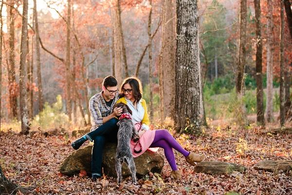 © Ashah Photography | lifestyle Christmas family portraits with dog