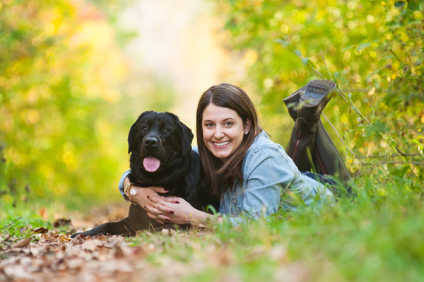© Alice G Patterson Photography | on location pet and people portraits, girl and her dog