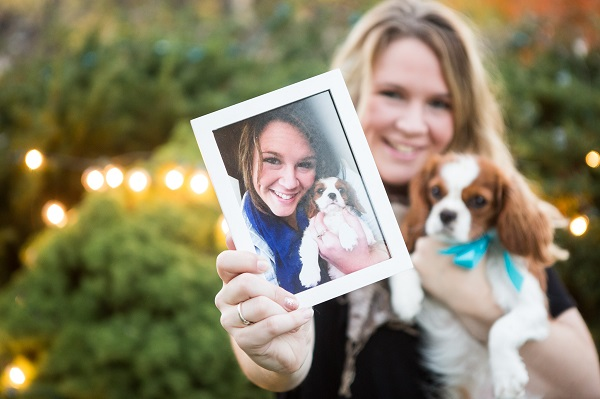 © Capture Photography by Kayla Stallbaumer | girl and her dog,  from puppy to dog