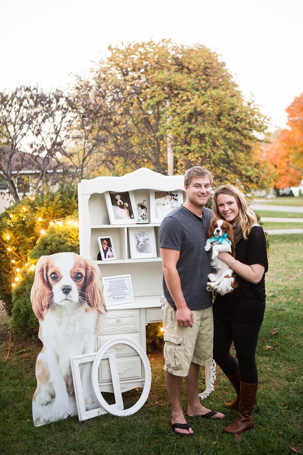 © Capture Photography by Kayla Stallbaumer | adorable birthday party for dog