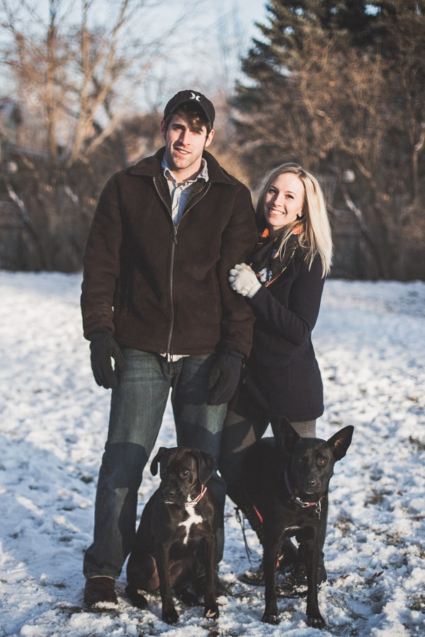 © Jen Montgomery Photography | Luna & Pepper,  Family photo with dogs, MN family pet lifestyle photography