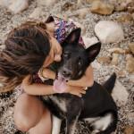 © Bitsa Bernard Photography girl and her dog,  dog photography