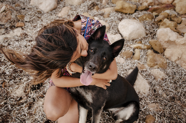 © Bitsa Bernard Photography | love between a girl and her dog, Adelaide dog portraits
