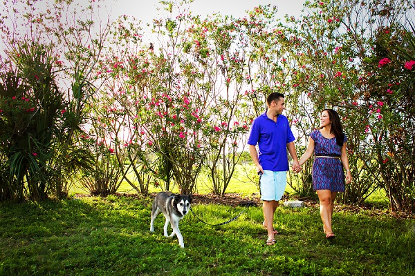 © Limelight Photography | engagement photos with dog