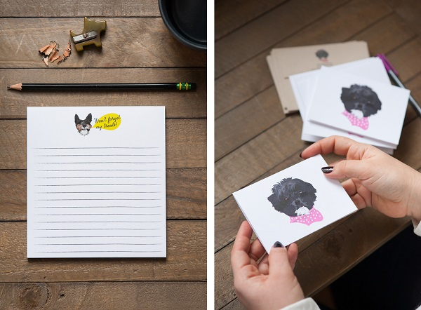 © Alice G Patterson Photography| product photography, Noble-Friends-Custom-Pet-Portraits-Illustrations-stationery